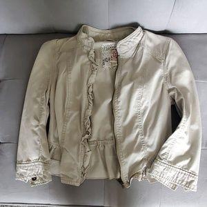 Cream colored jacket